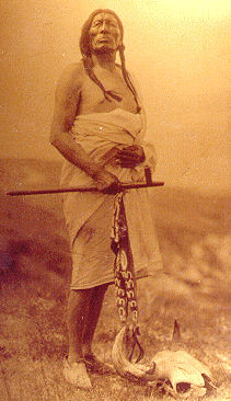 Shoshone Hunter, 1890